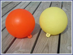 Set of 24 buoys